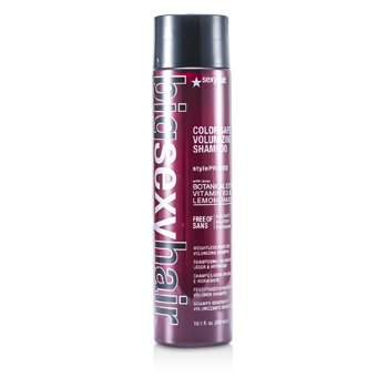 Sexy Hair Concepts Color Safe Champú Hidratante Ligero Extra Volumen (Cabello fino, apelmazado, grueso)  300ml/10.1oz
