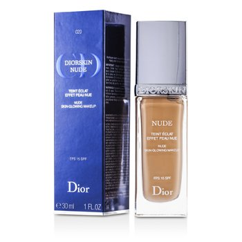 Christian Dior Diorskin Nude Skin Glowing Makeup SPF 15 - # 020 Light Beige  30ml/1oz