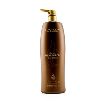 Lanza Keratin Healing Oil Acondicionador  1000ml/34oz