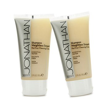 Jonathan Product Weightless Smooth No-Frizz Cleansing Creme Shampoo  2x50ml/1.7oz