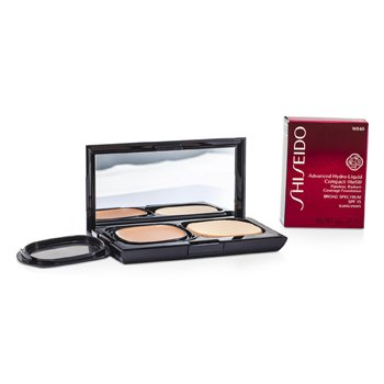 Shiseido Advanced Hydro Liquid Compact Foundation SPF15 (Case + Refill) - WB60 Natural Deep Warm Beige  12g/0.42oz