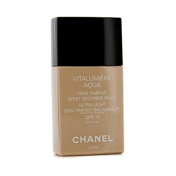 Chanel Vitalumiere Aqua Ultra M�u S�ng Da Perfecting Make Up SPF15 - # 64 Beige Ambre  30ml/1oz