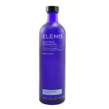 De-Stress Massage Oil (Salon Size)  200ml/6.7oz