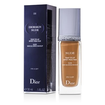 Christian Dior Base Diorskin Nude Skin Glowing Makeup SPF 15 - # 030 Medium Beige  30ml/1oz