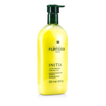Initia Softening Shine Shampoo (Frequent Use, All Hair Types)  500ml/16.9oz
