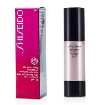 Shiseido Radiant Lifting Foundation SPF 15 - # B20 Natural Light Beige  30ml/1.2oz
