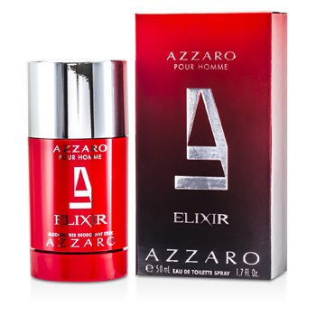 Estuche Azzaro: Elixir Eau De Toilette Spray 50ml/1.7oz + Desodorante en Barra 75ml/2.7oz  2pcs
