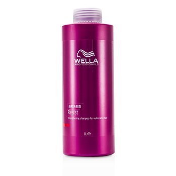 Wella Resist Strengthening Shampoo (For Vulnerable Hair)  1000ml/33.8oz