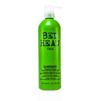 Tigi Bed Head Superfuel Elasticate Strengthening Shampoo (For Weak Hair)  750ml/25.36oz