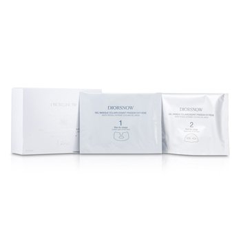 Christian Dior Diorsnow White Reveal Extreme Mascarilla Gel Refrescante  12x13ml/0.43oz