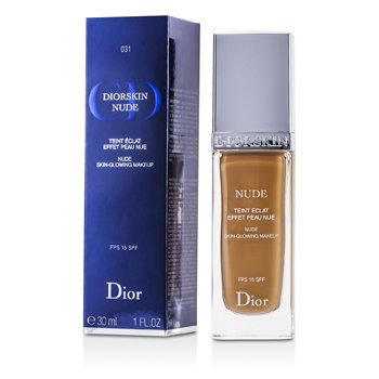 Christian Dior Base Diorskin Nude Skin Glowing Makeup SPF 15 - # 031 Sand  30ml/1oz