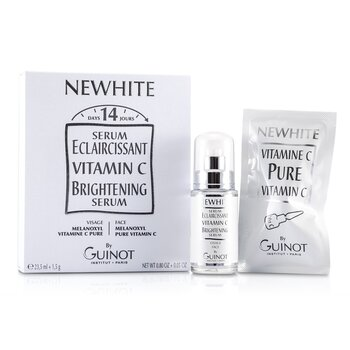 Newhite Vitamin C Brightening Serum (Brightening Serum 23.5ml/0.8oz + Pure Vitamin C 1.5g/0.05oz)  2pcs