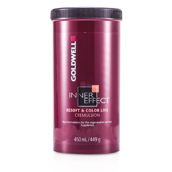 Goldwell Inner Effect Resoft and Color Live Emulsión Cabellos Teñidos  450ml/15oz