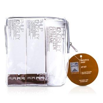 Smooth & Shiny Jet Set: Shampoo 75ml + Conditioner 75ml + Elasticizer Extreme 75ml PHI534C  3pcs