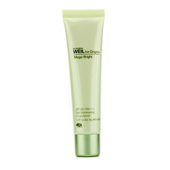 Origins Dr. Andrew Mega-Bright SPF 40 PA+++ Skin Illumating UV Protector Iluminador  40ml/1.4oz