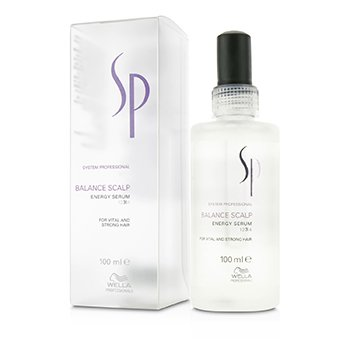 Wella SP Balance Scalp Energy Serum (For Vital and Strong Hair) 100ml/3.4oz