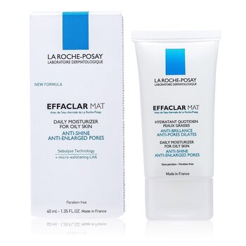 Effaclar Mat Daily Moisturizer (New Formula, For Oily Skin)  40ml/1.35oz