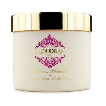 E Coudray Musc & Freesia Perfumed Body Cream (New Packaging)  250ml/8.4oz