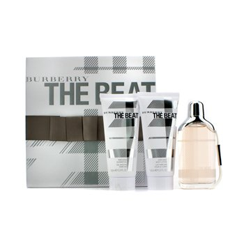 Burberry Estuche The Beat: Eau De Parfum Spray 75ml/2.5oz + Loción Corporal 100ml/3.3oz + Gel de Ducha 100ml/3.3oz  3pcs