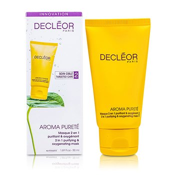 Decleor Aroma Purete 2 in 1 Purifying & Oxygenating Mask (Combination & Oily Skin)  50ml/1.69oz