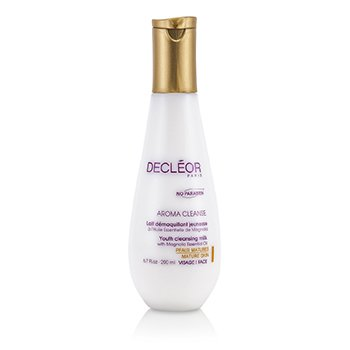 Decleor Leite de Limpeza Aroma Cleanse Youth (Pele Madura)  200ml/6.7oz