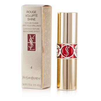 Yves Saint Laurent Rouge Volupte Shine - # 4 Rouge In Danger  4.5g/0.15oz