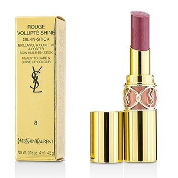 Yves Saint Laurent Rouge Volupte Shine - # 8 Pink In Confidence  4.5g/0.15oz