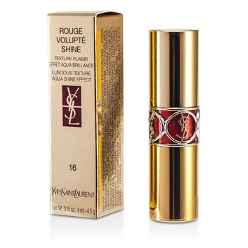 Yves Saint Laurent Rouge Volupte Shine - # 16 Orange Impertinent  4.5g/0.15oz