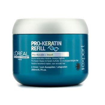 L'Oreal Mascara capilar Professionnel Expert Serie - Pro-Keratin Refill Correcting Care Masque (Cabelo danificado)  200ml/6.7oz