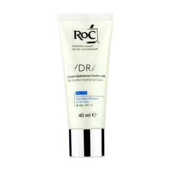 ROC Hydra+ 24h Comfort Hydrating Cream SPF 15 (All Skin Types)  40ml/1.3oz