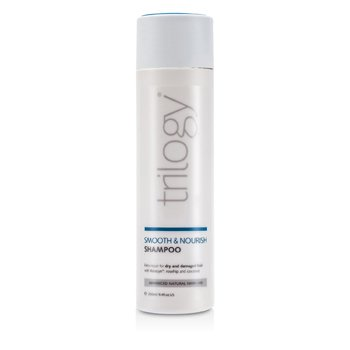 Trilogy Smooth & Nourish Shampoo (For Dry and Damaged Hair)  250ml/8.4oz