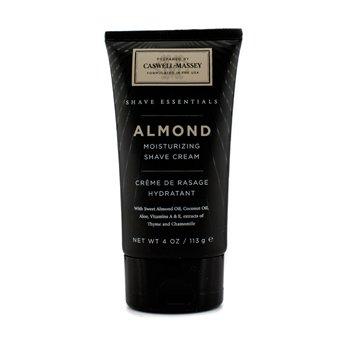 Caswell Massey Creme de barbear Almond hidratante  113g/4oz