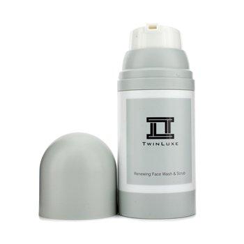 Twinluxe Renewing Face Wash & Scrub  150ml/5oz