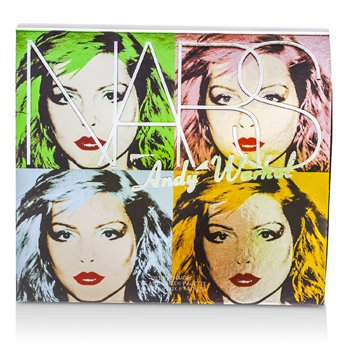 NARS Andy Warhol Collection Debbie Harry Eye And Cheek Palette (4x Sombras, 2x Blushes)  6pcs