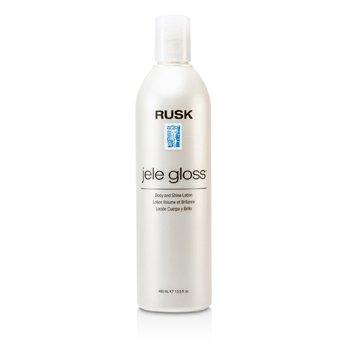 Rusk Loçºao Para Brilho Jele Gloss Body & Shine Lotion  400ml/13.5oz