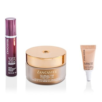 Suractif Comfort Lift Set: Conform Rich Cream 50ml + Intense Serum 10ml + Eye Cream 3ml 3pcs
