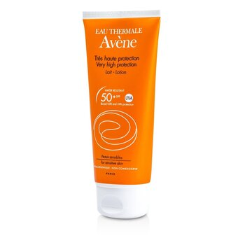 Avene لوسیون ضدآفتاب بسیار قوی SPF50+ (مناسب پوست حساس)  100ml/3.4oz