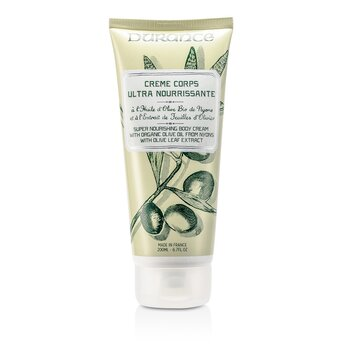 Super Nourishing Body Cream with Olive Leaf Extract  200ml/6.7oz