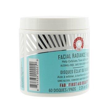 Facial Radiance Pads  60 Pads