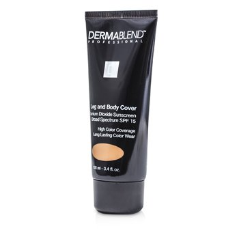 Leg & Body Cover Broad Spectrum SPF 15 (High Color Coverage & Long Lasting Color Wear)  100ml/3.4oz