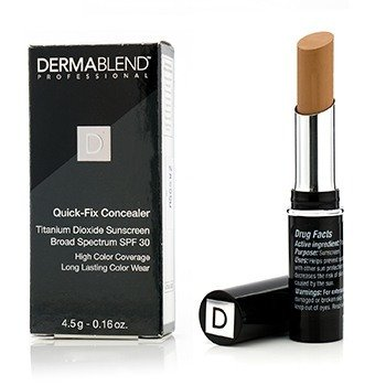 Dermablend Quick Fix Concealer Broad Spectrum SPF 30 (High Coverage, Long Lasting Color Wear) - Bronze  4.5g/0.16oz