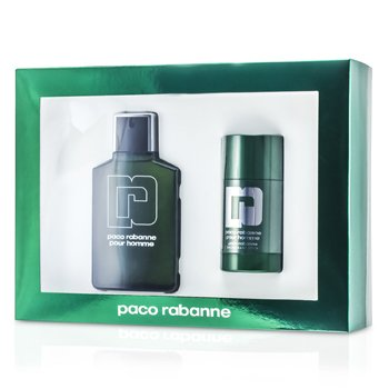 Pour Homme Coffret: Eau De Toilette Spray 100ml/3.3oz + Deodorant Stick 75ml/2.2oz  2pcs