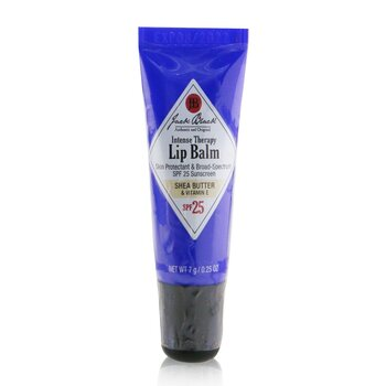Jack Black Intense Therapy Lip Balm SPF 25 With Shea Butter & Vitamin E  7g/0.25oz