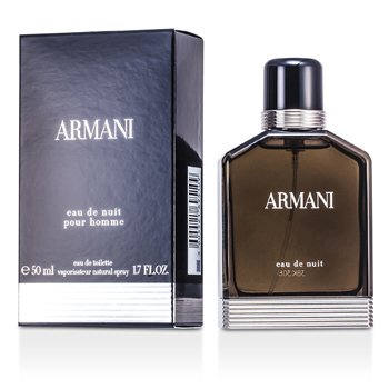 Armani Eau De Nuit Eau De Toilette Spray  50ml/1.7oz