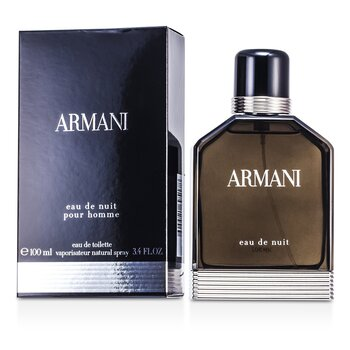 Armani Eau De Nuit Eau De Toilette Spray  100ml/3.4oz