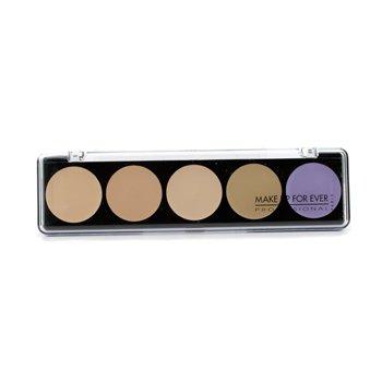 5 Camouflage Cream Palette  10g/0.35oz