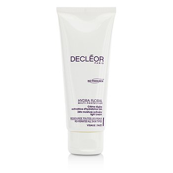 Decleor Hydra Floral 24hr Moisture Activator Light Cream - Krim (Ukuran Salon)  100ml/3.3oz