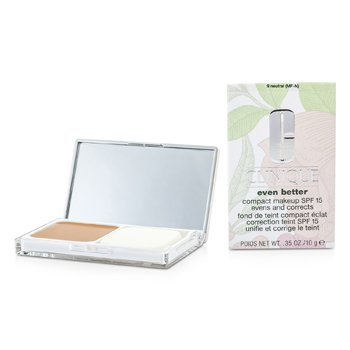 Clinique Podkład w kompakcie Even Better Compact Makeup SPF 15 - # 09 Neutral (MF-N)  10g/0.35oz