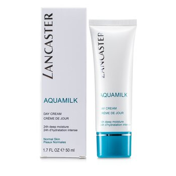 Lancaster Krem na dzień Aquamilk Day Cream (skóra normalna) 001811  50ml/1.7oz
