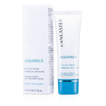 Lancaster Creme dia Aquamilk Rich (Pele seca ) 001799  50ml/1.7oz